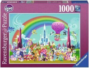 Ravensburger My little Pony unterm Regenbogen, 1000 Teile