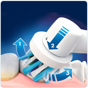 Oral-B Elektrische Zahnbürste Smart Series 6000 CrossAction inkl. 2. Handstück