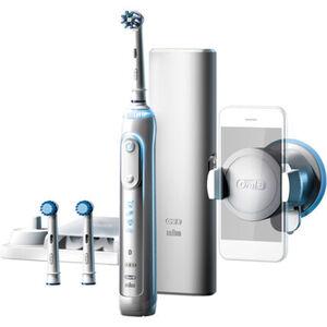 Oral-B Elektrische Zahnbürste Genius 8000s, weiß