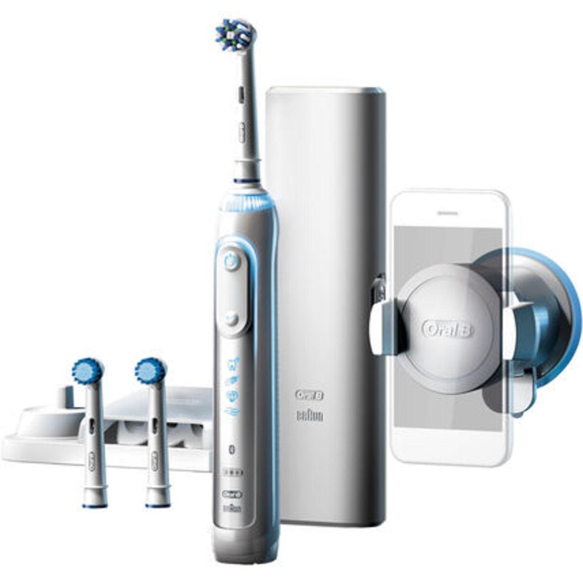 Bild 1 von Oral-B Elektrische Zahnbürste Genius 8000s, weiß