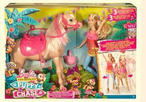 Barbie Tanzspaß Pferd und Puppe