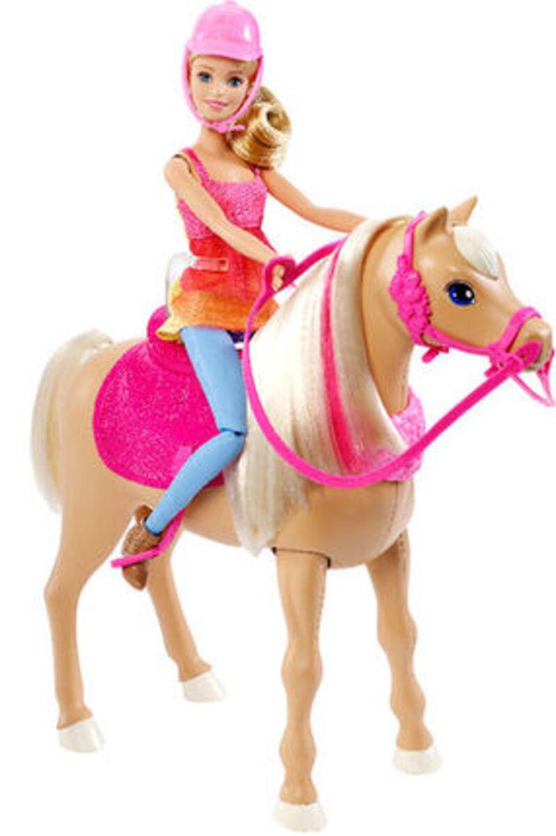 Bild 2 von Barbie Tanzspaß Pferd und Puppe