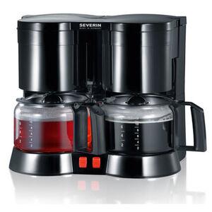 Severin Duo-Kaffeemaschine KA 5801, schwarz