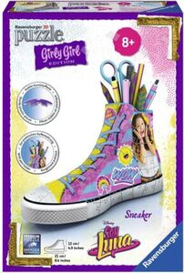 Ravensburger Puzzle - 3D Puzzles - Girly Girl Edition - Sneaker Soy Luna, 108 Teile