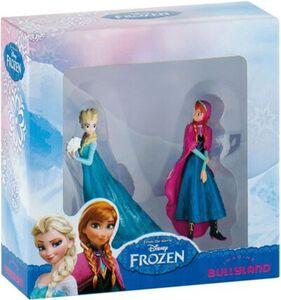 Bullyland Frozen - Mini Doppel-Pack (Schneekönigin Elsa + Anna)