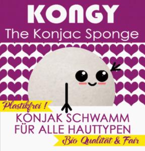 KONGY Konjak Schwamm Original für alle Hauttypen