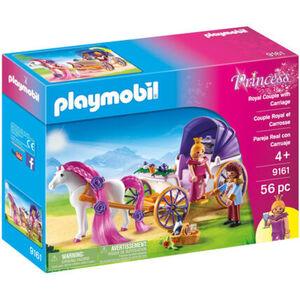 PLAYMOBIL® Princess Königspaar mit Pferdekutsche 9161