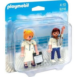 PLAYMOBIL® 9216 - Duo Packs - Duo Pack Stewardess und Offizier