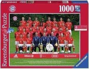 RAVENSBURGER Ravensburger Puzzle - FC Bayern München - Saison 16/17, 1000 Teile
