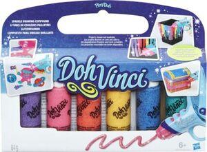 DOH VINCI DohVinci 6er Pack Glitzerfarben