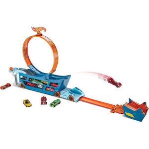 Mattel Stunt N Go Transporter & Trackset