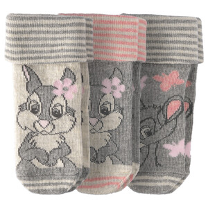 3 Paar Bambi Socken im Set