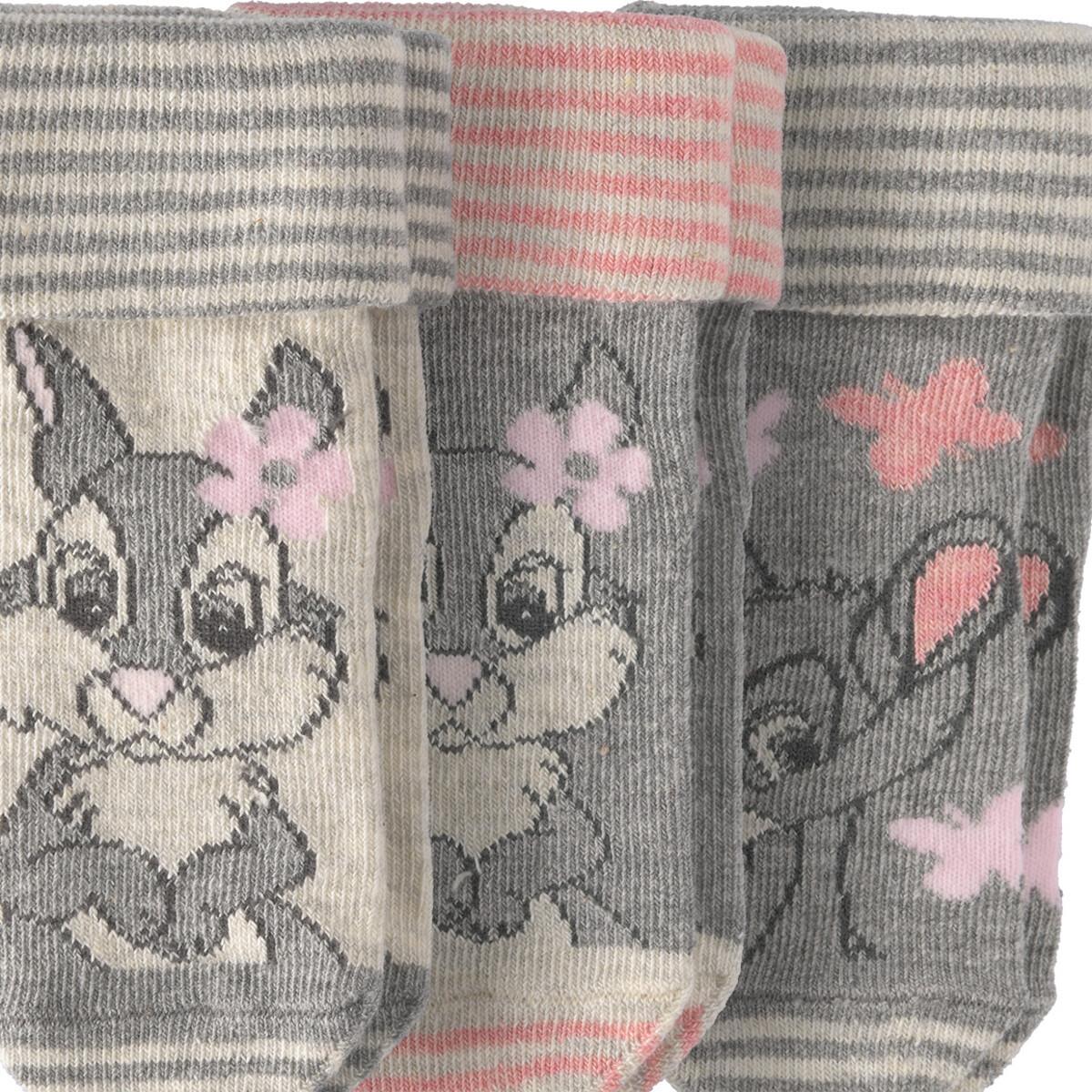 Bild 2 von 3 Paar Bambi Socken im Set