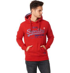 Superdry Herren Sweatshirt, rot, XL, XL