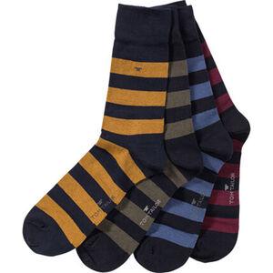 Tom Tailor Herren Socken in Geschenkbox aus Metall