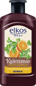 elkos Body Kräuterbad Melisse & Orange 0,5 ltr