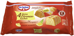 Dr.Oetker 4 Kleine Zitronenkuchen 4x 35 g