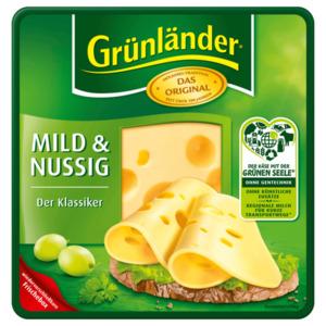 Grünländer Käsescheiben mild & nussig