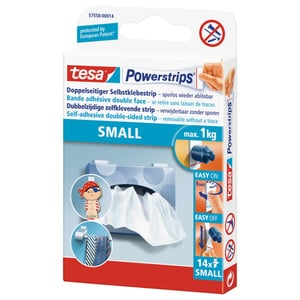 tesa® Powerstrips small 14 Strips