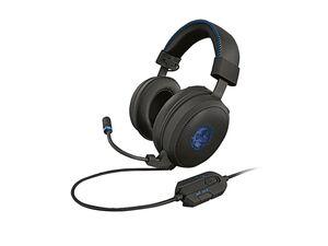 SILVERCREST® Gaming Headset, hervorragender Klang, Kunstleder-Ohrmuscheln