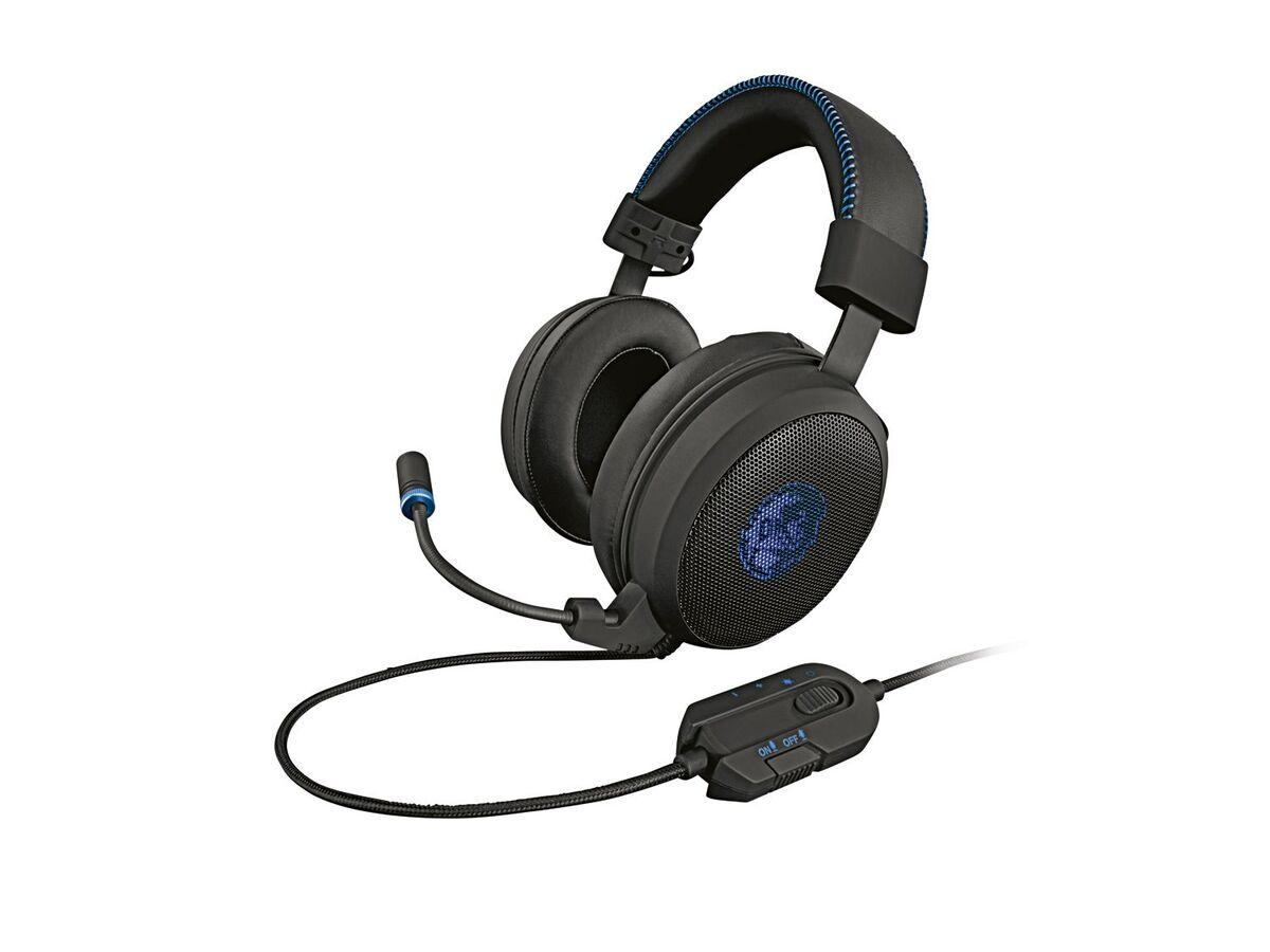 Bild 1 von SILVERCREST® Gaming Headset, hervorragender Klang, Kunstleder-Ohrmuscheln