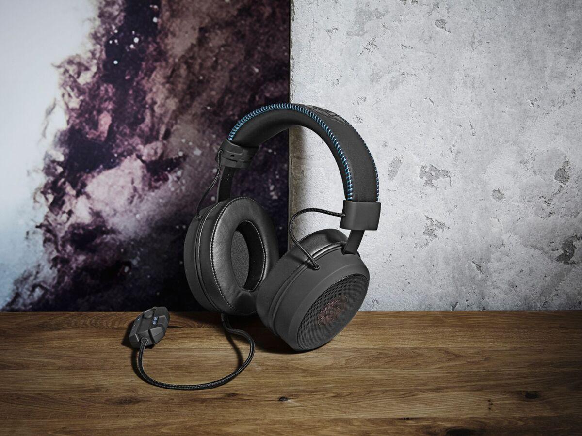 Bild 2 von SILVERCREST® Gaming Headset, hervorragender Klang, Kunstleder-Ohrmuscheln