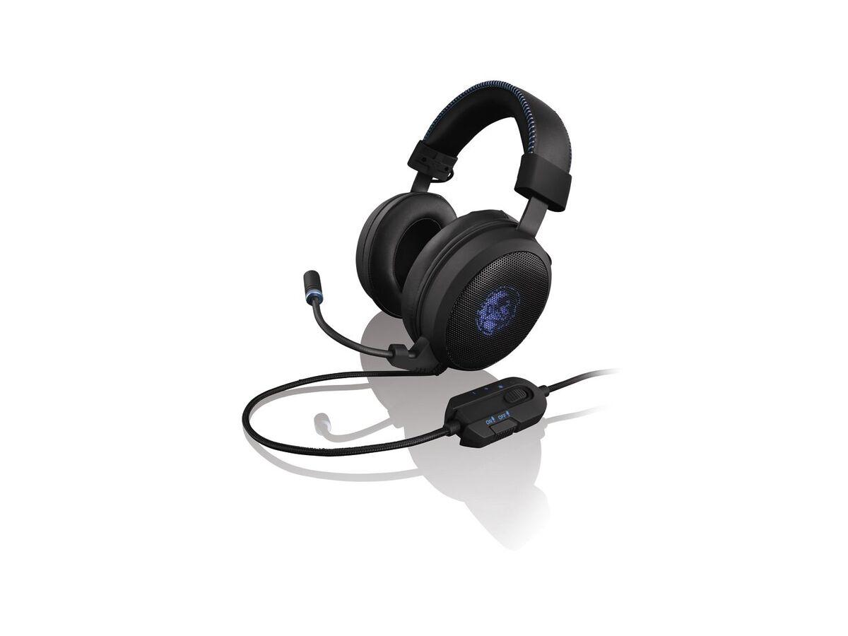 Bild 4 von SILVERCREST® Gaming Headset, hervorragender Klang, Kunstleder-Ohrmuscheln