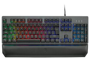 SILVERCREST® Gaming Keyboard Semi-Mechanical RGB INT 1000