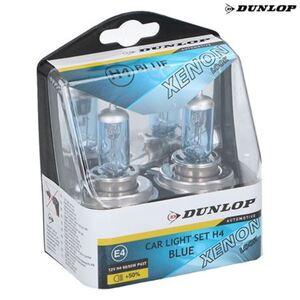 Dunlop Scheinwerferlicht Xenon Blue H4 2er-Set