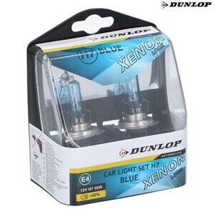 Dunlop Scheinwerferlicht Xenon Blue H7 2er-Set