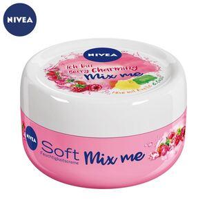 NIVEA Soft Mix me Berry Charming Feuchtigkeitscreme 100ml