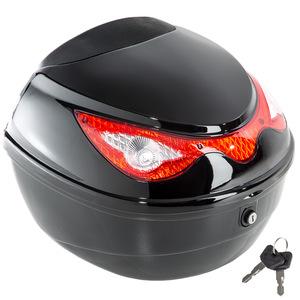 Motorradkoffer mit extragroßem Reflektor - Volumen ca. 22 Liter