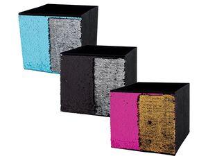 MELINERA® 2 Ordnungsboxen Textil faltbar