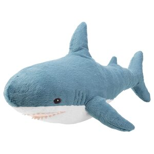 BLÅHAJ                                Stoffspielzeug, Hai, 55 cm
