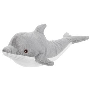 GENOMBLÖT                                Stofftier, Delfin, 30 cm