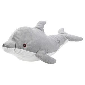 GENOMBLÖT                                Stofftier, Delfin, 70 cm