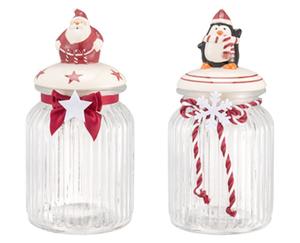 CROFTON®  Weihnachtliche Vorratsgläser