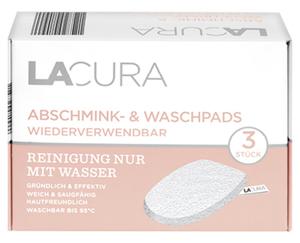 LACURA 3 Abschmink- und Waschpads