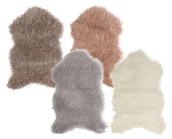 tukan Deko-Kunstfell-Teppich oder 2 Sitzkissen
