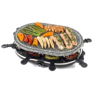 »PROGRESS« Stein-Raclette für 8 Personen
