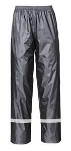 Regenhose mit Gummizug, Farbe schwarz Terratrend