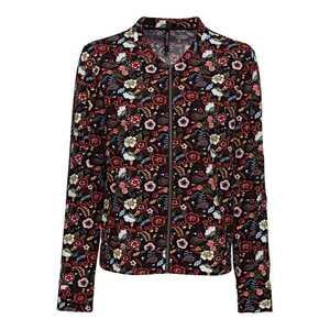 Damen-Jacke mit floralem Muster