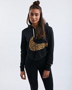 Nike Leopard Swoosh - Damen Hoodies
