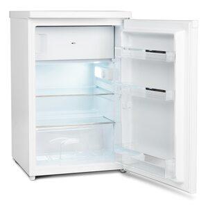 MEDION Kühlschrank mit Gefrierfach MD 37052, 118 L Nutzinhalt, 103 l Kühlteil & 15 L Gefrierteil, wechselbarer Türanschlag