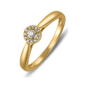 CHRIST Diamonds Damenring 87375277