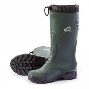 Winterstiefel Quebec ,  Größe 41, grün-schwarz
