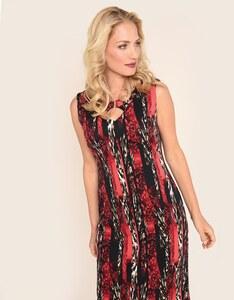 Bexleys woman - Jerseykleid mit raffiniertem Ausschnitt