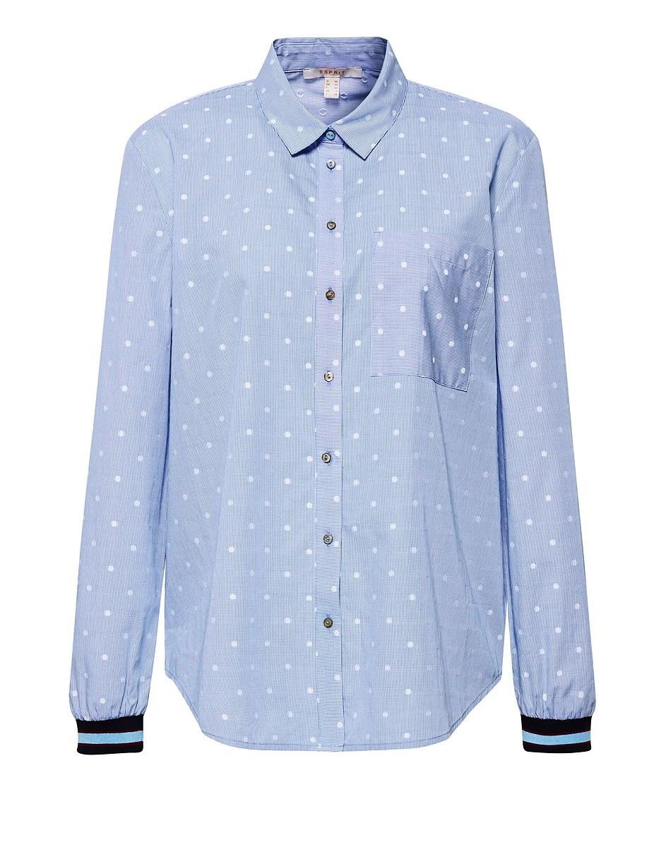 Bild 1 von Esprit - Hemdbluse mit Rippbündchen