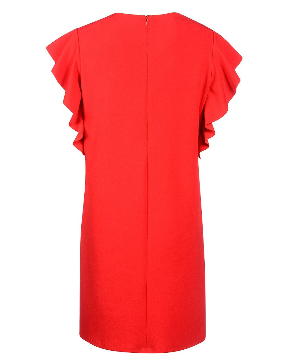 Bild 2 von My Own - Kleid mit Capeärmeln und Ösen mit Schnürung