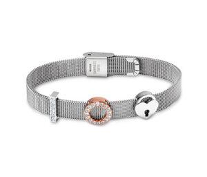 Milanaise-Armband verziert mit Swarovski® Kristallen
